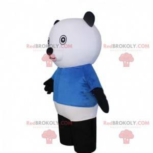 Polar bear mascot, giant teddy bear costume - Redbrokoly.com