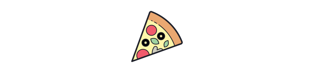 Pizzamaskot - Maskot kostumer Redbrokoly.com