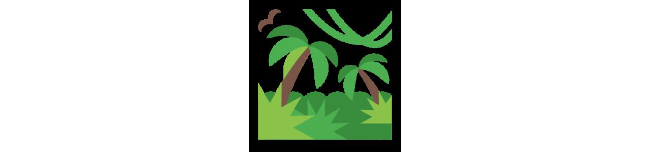 Jungle dieren - Mascottekostuums Redbrokoly.com