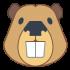 Beaver mascottes