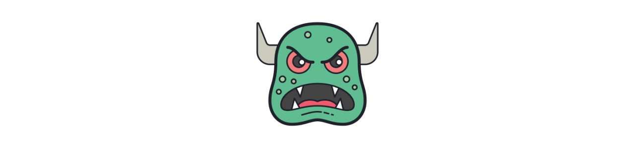 Monster maskoti - maskotové kostýmy Redbrokoly.com