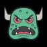 Monstermaskottchen