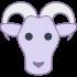 Mascotte di capre e capre