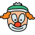 Circus mascottes