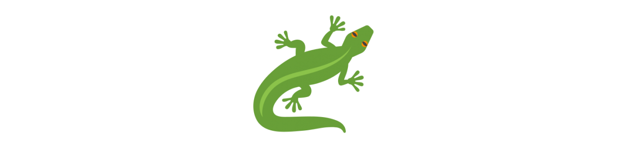 Reptile maskoter - Maskot kostumer Redbrokoly.com