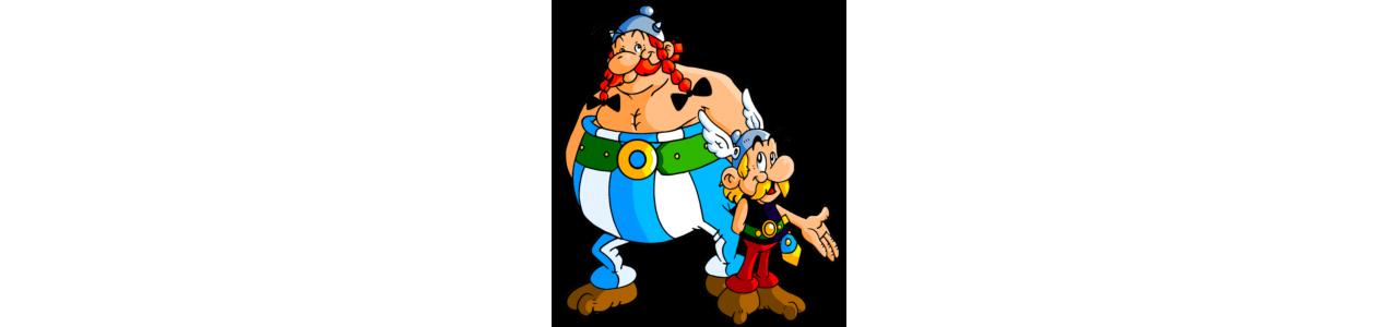 Mascotes Asterix e Obelix - Fantasias de mascote em Redbrokoly.com