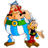 Asterix en Obelix mascottes