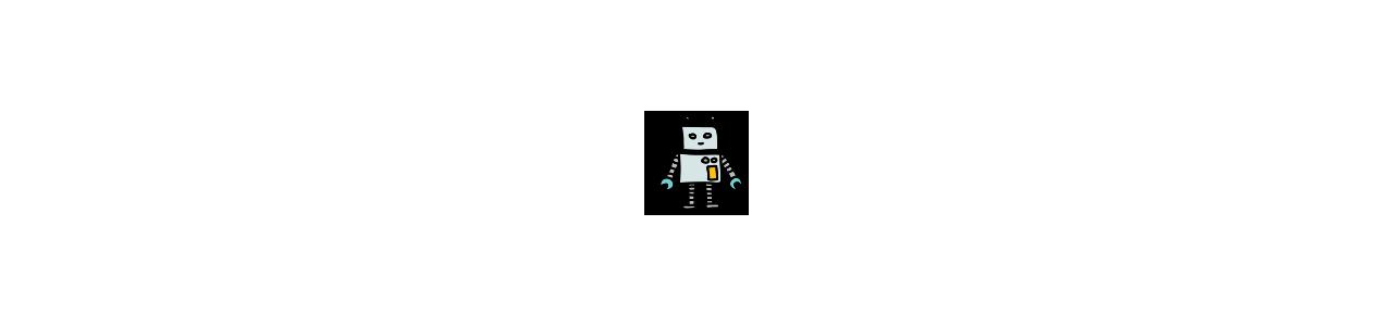 Robotmasker - Maskot kostumer Redbrokoly.com