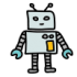 Mascotes de robôs