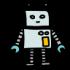 Robotermaskottchen