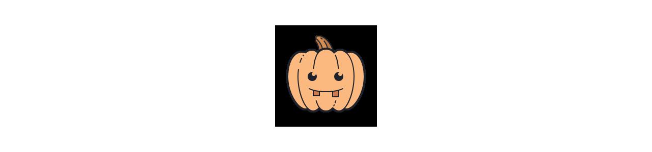 Halloween-mascottes - Mascottekostuums Redbrokoly.com