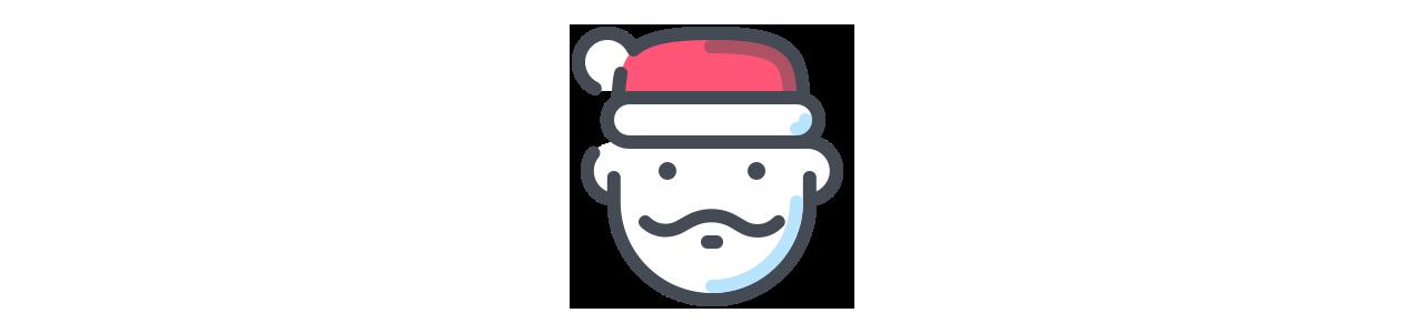 Jul og Thanksgiving maskoter - Maskot kostumer Redbrokoly.com