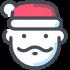 Weihnachts- und Thanksgiving-Maskottchen