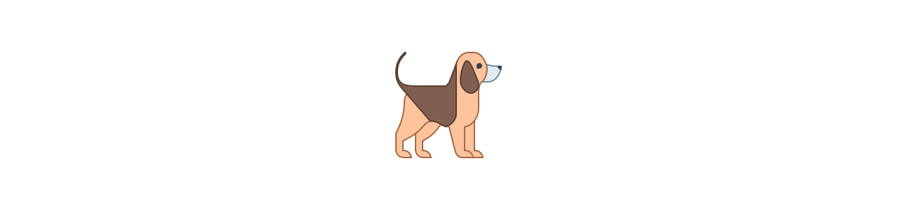 Hunde maskoter - Maskot kostumer Redbrokoly.com