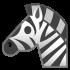 Zebra maskotter