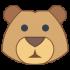 Bärenmaskottchen