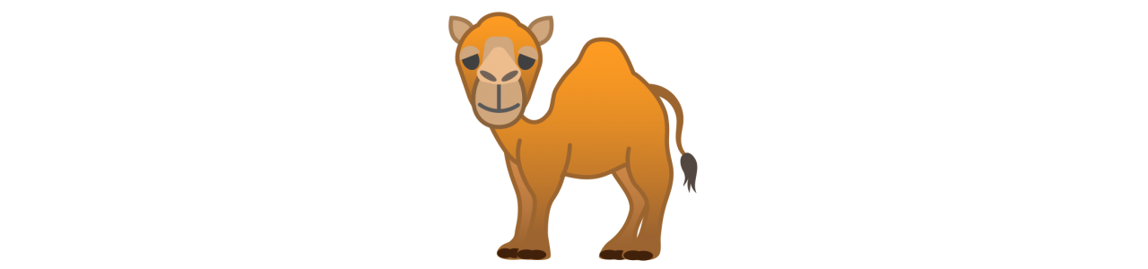 Mascota camellos / dromedarios - disfraces mascota Redbrokoly.com