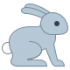 Mascotte di coniglio