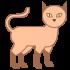 Katzenmaskottchen