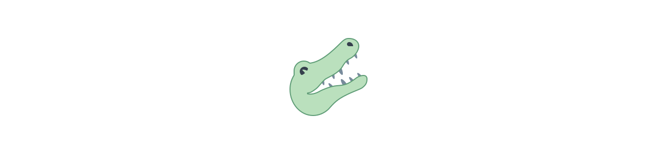 Krokodil mascotte - Mascottekostuums Redbrokoly.com