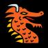 Mascota del dragón