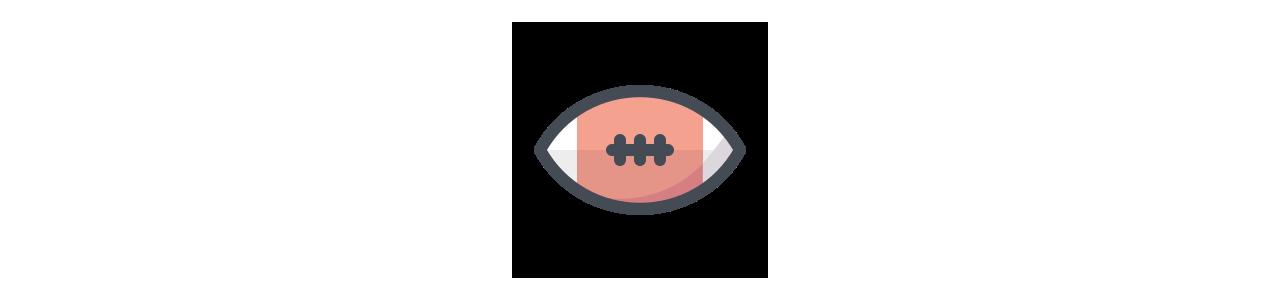 Mascote de esportes - Fantasias de mascote em Redbrokoly.com