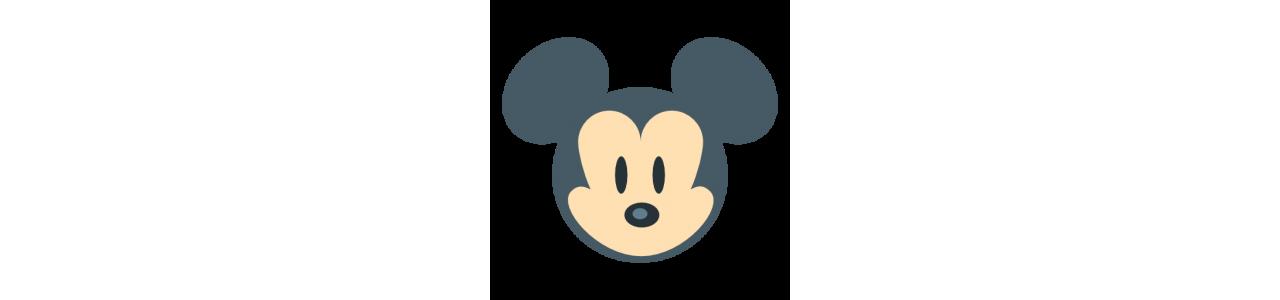 Mascottes van Mickey Mouse - Mascottekostuums Redbrokoly.com