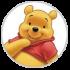 Mascotes do Ursinho Pooh