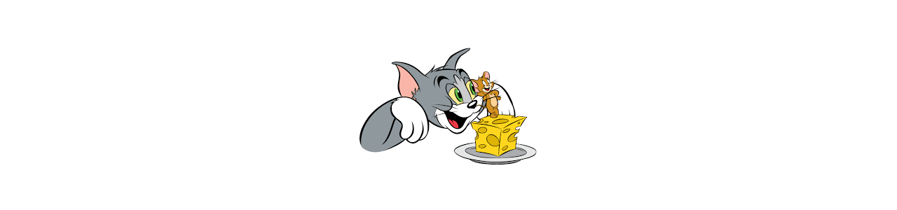 Tom a Jerry maskoti - maskotové kostýmy Redbrokoly.com