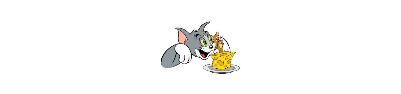 Tom og Jerry maskoter - Maskot kostumer Redbrokoly.com