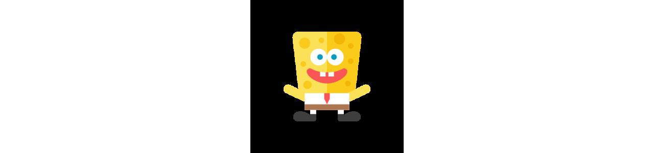 Spongebob-mascottes - Mascottekostuums Redbrokoly.com