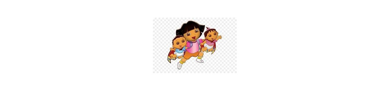 Dora en Diego mascottes - Mascottekostuums Redbrokoly.com