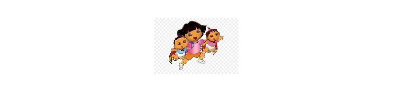 Mascotes de Dora e Diego - Fantasias de mascote em Redbrokoly.com