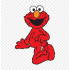 Mascotes 1 rue gergelim Elmo