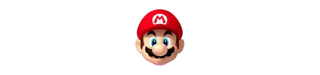 Mario maskoter - Maskot kostumer Redbrokoly.com