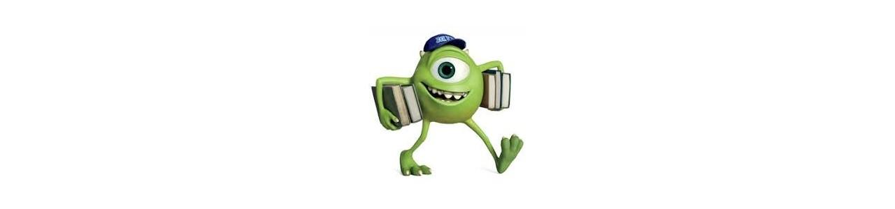 Monster & Cie-maskoter - Maskot kostumer Redbrokoly.com