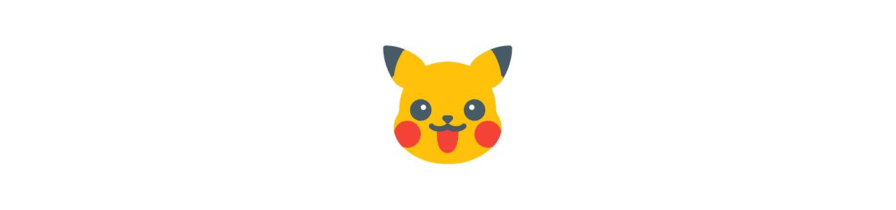 Mascotes de Pokemon - Fantasias de mascote em Redbrokoly.com