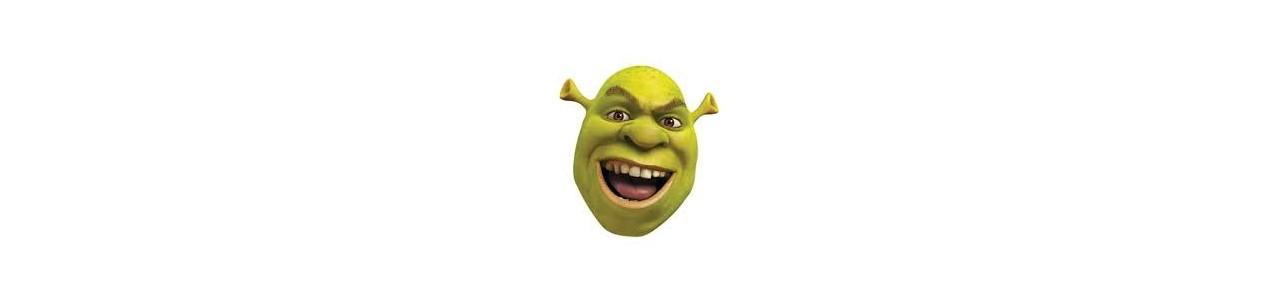 Shrek-maskoter - Maskot kostumer Redbrokoly.com