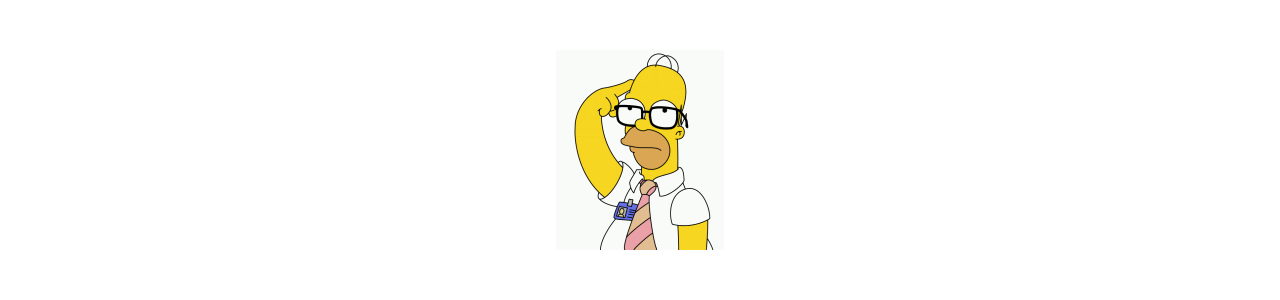 Las mascotas de los Simpson: disfraces de mascota Redbrokoly.com