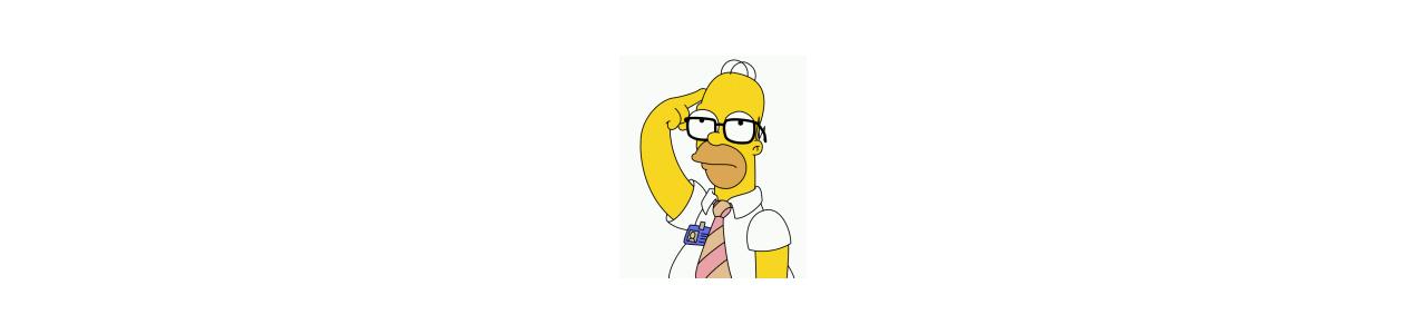 Le mascotte dei Simpson - Costumi mascotte Redbrokoly.com-null