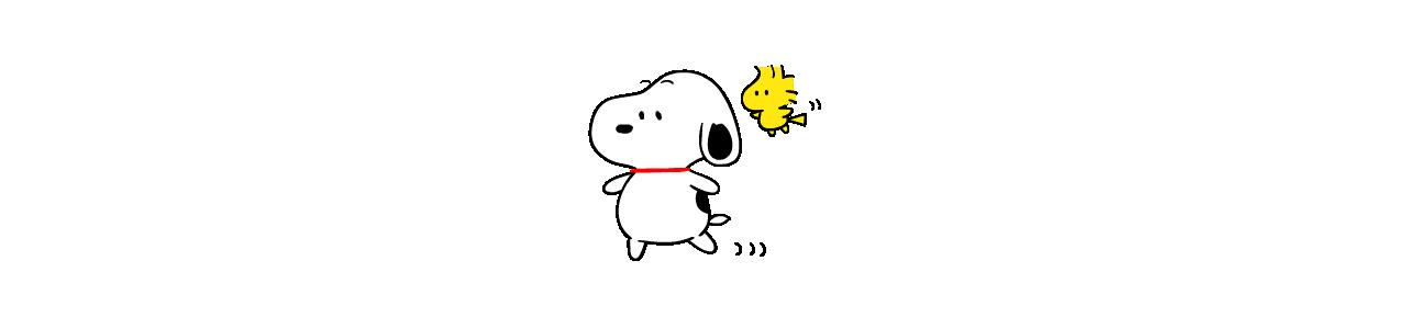 Snoopy-mascottes - Mascottekostuums Redbrokoly.com