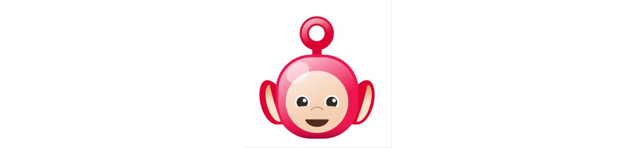 Teletubbies maskoter - Maskot kostumer Redbrokoly.com