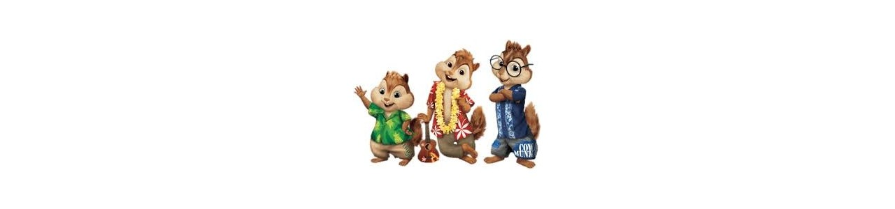 Le mascotte di Chipmunks - Costumi mascotte Redbrokoly.com-null