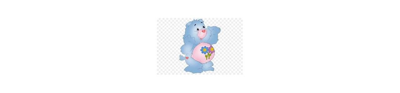 Les bisounours mascotes - Fantasias de mascote em Redbrokoly.com