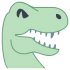 Mascotte di dinosauro