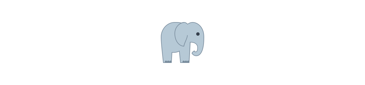 Mascottes van olifanten - Mascottekostuums Redbrokoly.com