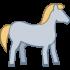 Pferdemaskottchen
