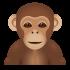 Affenmaskottchen