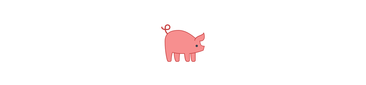 Schweinemaskottchen - Maskottchenkostüme Redbrokoly.com