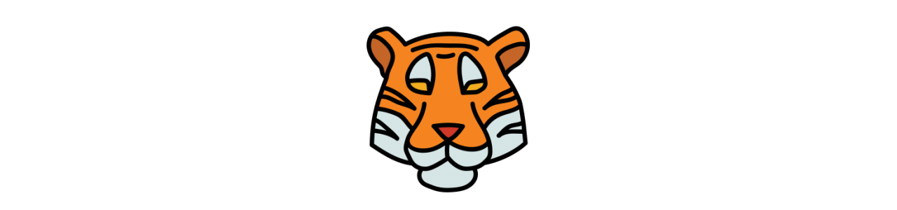 Mascotte tigre - Costumi mascotte Redbrokoly.com-null